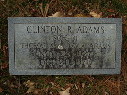 Clinton R Adams