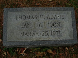 Thomas Henry Adams