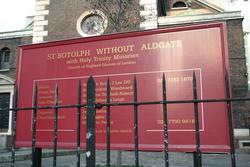 St Botolph without Aldgate Churchyard