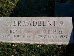 Ellen Matilda <I>Owens</I> Broadbent