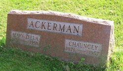 Mary Zella <I>Maben</I> Ackerman