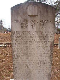 William Paul Adams