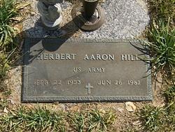 Herbert Aaron Hill