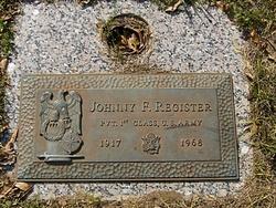 Johnny F. Register