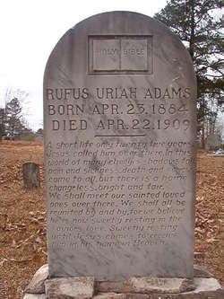 Rufus Uriah Adams