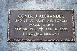 Comer J. Alexander