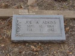"Joseph Abraham ""Joe"" Adkins"