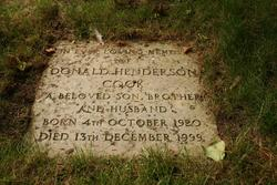 Donald Henderson Cook