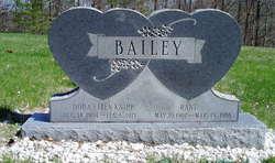 Dora Ellen <I>Knipp</I> Bailey