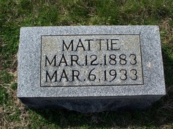 Mattie <I>Greer</I> Brown