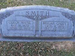 Beulah <I>Gaddy</I> Smith