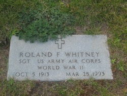 Roland F Whitney