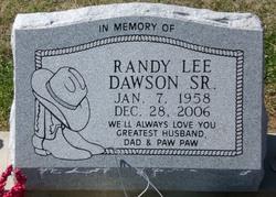 Randy Lee Dawson, Sr