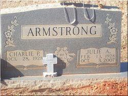 "Julia Ann ""Julie"" <I>Gulick</I> Armstrong"