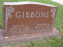 Betty L Gibbons
