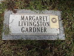 Margaret <I>Livingston</I> Gardner