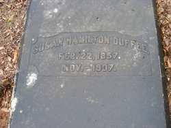 Susan <I>Hamilton</I> Duffee