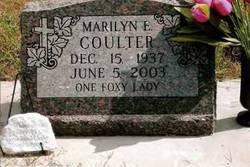 Marilyn Edith <I>Fox</I> Coulter