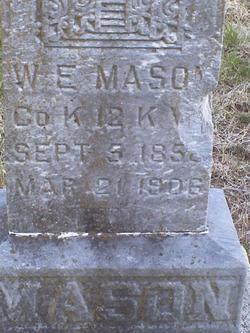 William Ellis Mason