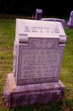 Juda Ann <I>Walker</I> Bettis