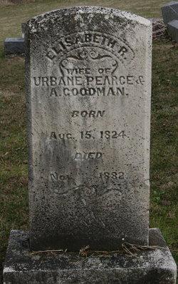 Elizabeth Ruth Pearce <I>Jackson</I> Goodman
