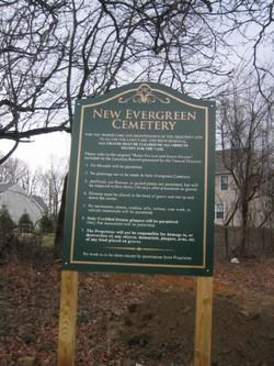 New Evergreen Cemetery