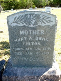 "Mary Ann ""Polly"" <I>Davis</I> Fulton"