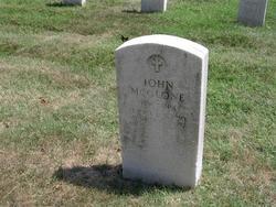 Sgt John McGlone