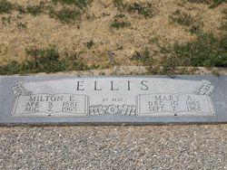 Mary Alpha <I>Fowler</I> Ellis