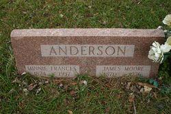Minnie Frances <I>Barr</I> Anderson