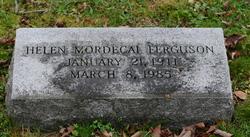 Helen Norwood <I>Mordecai</I> Ferguson
