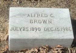 Alfred George Brown