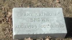 Mary Kathryn Brown
