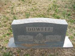 Opal <I>Brown</I> Dowell