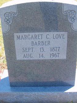 Sarah Margaret Catherine <I>Love</I> Barber