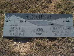 Annie Florine <I>Farmer</I> Cooper