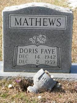 Doris Faye <I>Causey</I> Mathews