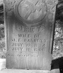 Josie <I>Jewell</I> Garnett
