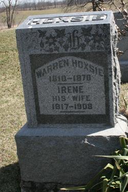 Irene <I>Davenport</I> Hoxsie