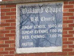 Oakland Chapel Cemetery