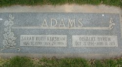Delbert Hyrum Adams