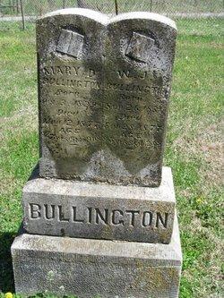Mary Ann <I>Anderson</I> Bullington