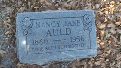 Nancy Jane <I>Holeman</I> Auld