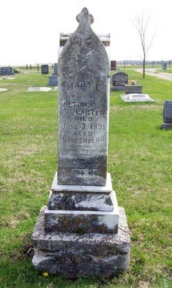 Mary E <I>Baldridge</I> Carter