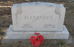 Jeanne E. <I>Viner</I> Alexander