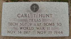 Carl T Hunt