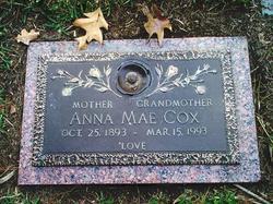 Anna Mae <I>Markham</I> Cox