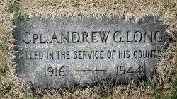 Andrew G Long