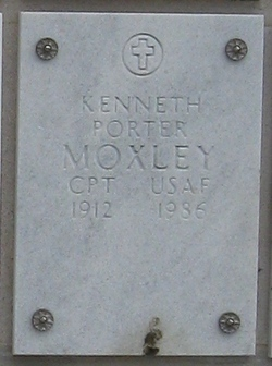 Capt Kenneth Porter Moxley
