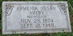 Armenia Susan <I>Hutson</I> Avery
